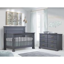 Natart - Taylor Collection - Convertible Crib