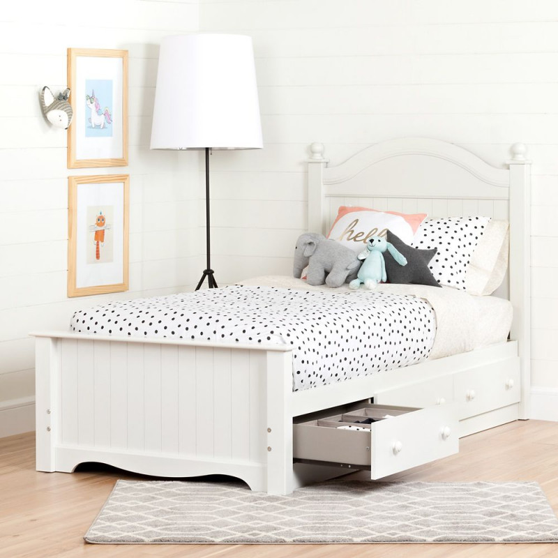 South Shore - Savannah - Complete Storage Bed with Headbooard and 3 Drawers