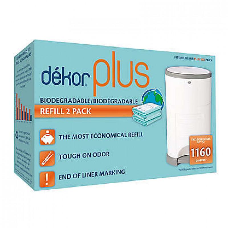 Dékor - 1160 Recharges pour poubelle Dekor Plus