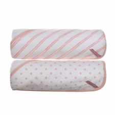 KidiComfort 2 Pack Hooded Towel - Pink