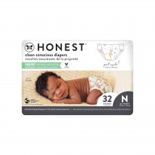 The Honest Co - Eco Friendly Diapers - New Born