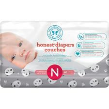 The Honest Co - Eco Friendly Diapers 40pk - Newborn