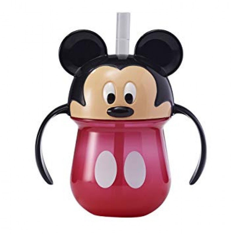 The First Years - Disney Baby Trainer Straw Cup with Handles