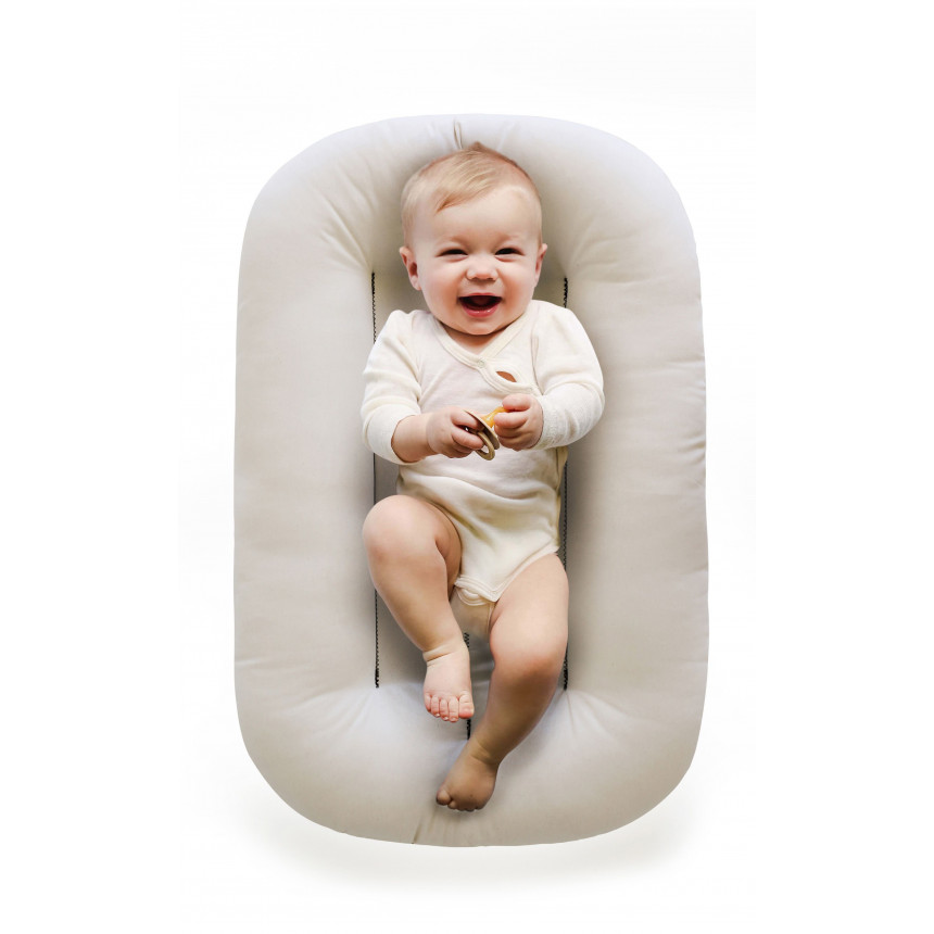 Snuggle Me Organic - Organic Infant Lounger - Natural