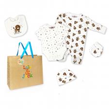 Lily & Jack - 5 Piece Gift Set - 3-6M