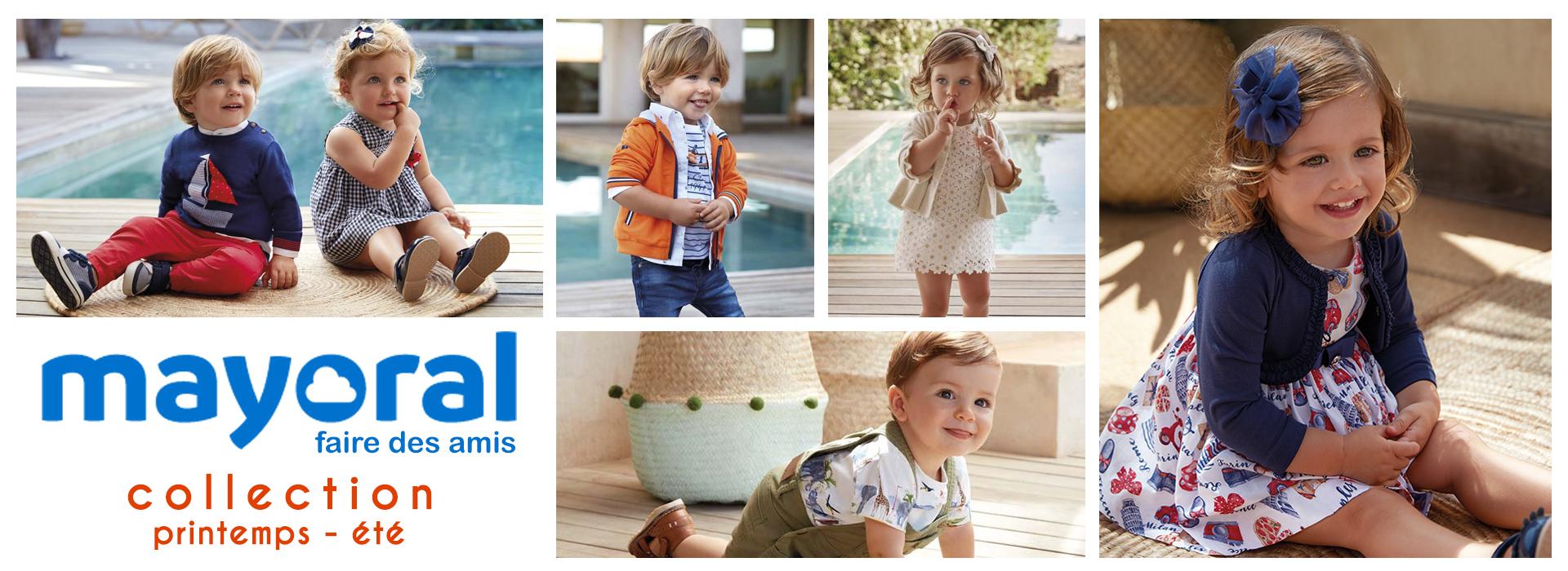 Mayoral vêtements pour enfants - Collection Printemps-Été