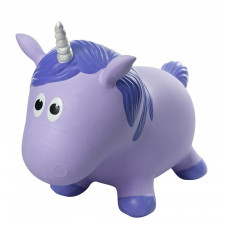 Farm Hoppers - Purple Unicorn Inflatable Bouncer