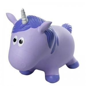 Farm Hoppers - Purple Unicorn Inflatable Bouncer