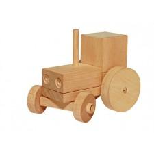 Igooka - Tracteur en bois