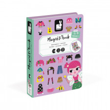 Janod- Girl's Costumes Magneti'Book