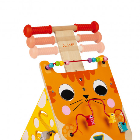 Janod - Multi Activities Cat Baby Walker