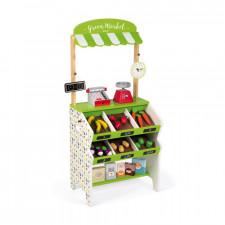 Janod -  Green Market Grocery (Wood)
