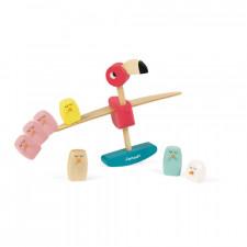 Janod - Zigolos Balancing Game Flamingo (Wood)