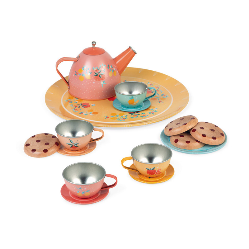 Janod - Tea Set Dinnerware