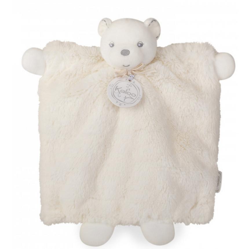 Kaloo - Perle  Doudou Bear Hand Puppet Creme