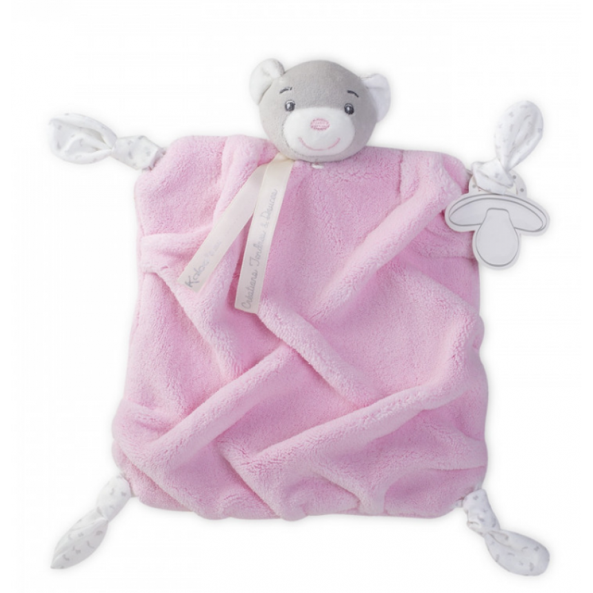 Kaloo- Plume - Doudou Bear Pink