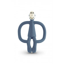 Matchstick Monkey - Teething Toy - Airforce Blue
