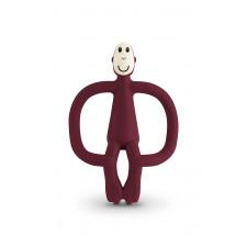 Matchstick Monkey - Teething Toy - Claret
