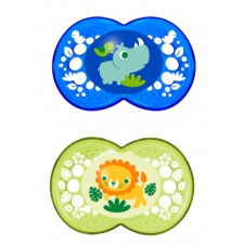 MAM - Crystal Silicone Pacifier 6m+ (Assorted)