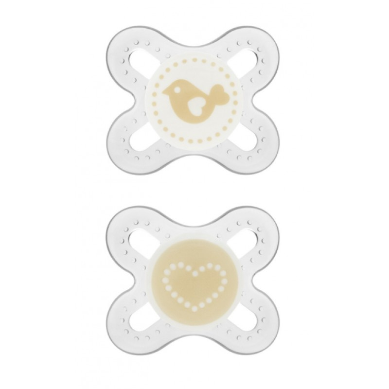 MAM - Silicone Pacifiers Start 0m+ (Assorted)