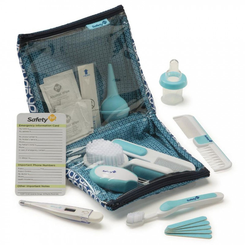 Safety 1st - Deluxe Healthcare & Grooming Kit Blue Artic 25pk