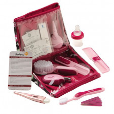 Safety 1st - Deluxe Healthcare & Grooming Kit Pink 25pk