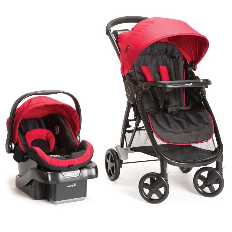 Safety 1st - Système de voyage Step & Go - Rouge écarlate