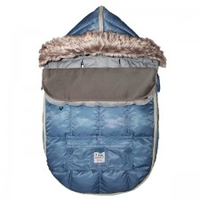 7AM - Le Sac Igloo 500 Moyen (6-18M) Denim