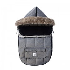 7AM - Le Sac Igloo 500 Petit (0-6M) Gris