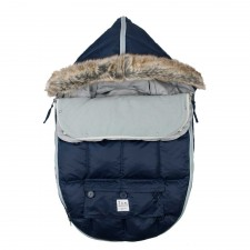 7AM - Le Sac Igloo 500 Moyen (6-18M) Bleu minuit