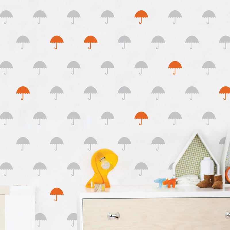AD-Zif - Autocollant mural Il Pleut