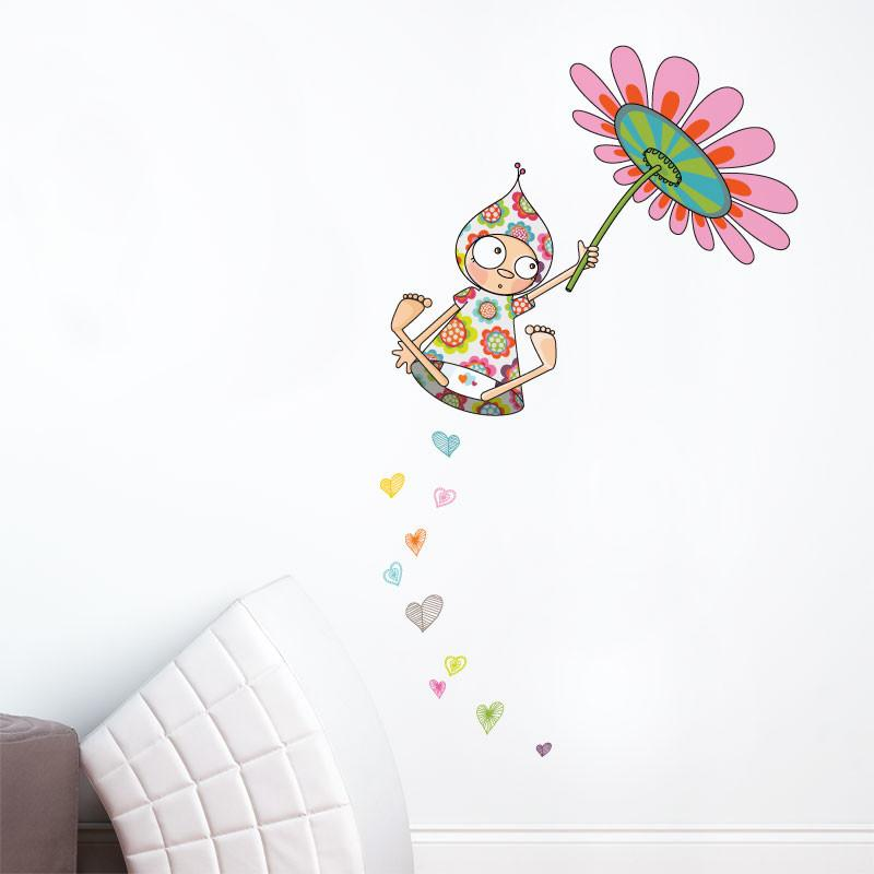AD-Zif - Wall Decals - Violette Takes a Flight