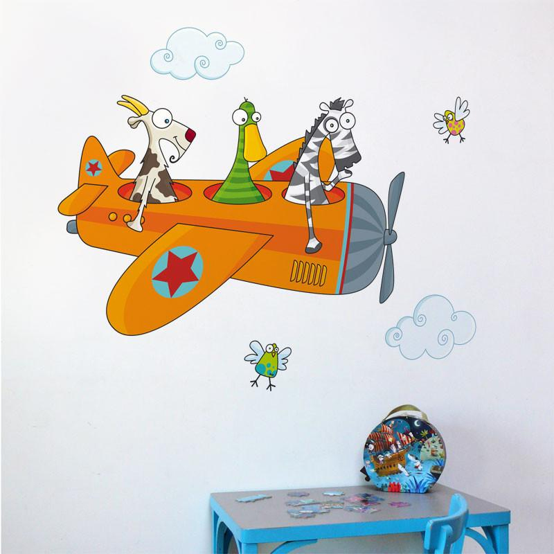 AD-Zif - Wall Decals - Friends in Flight