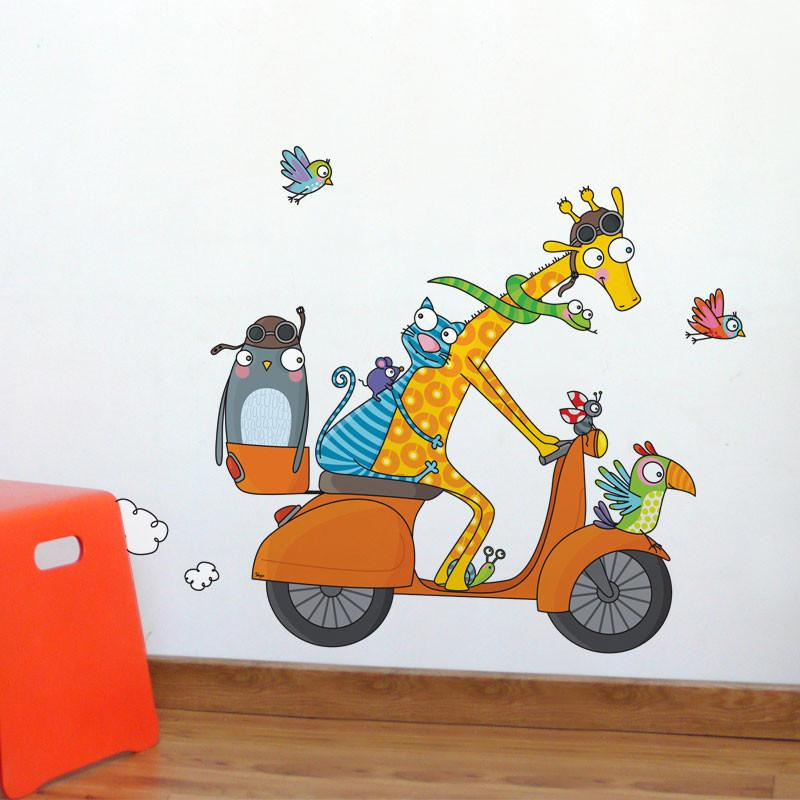 AD-Zif - Wall Decals - Let's Go!