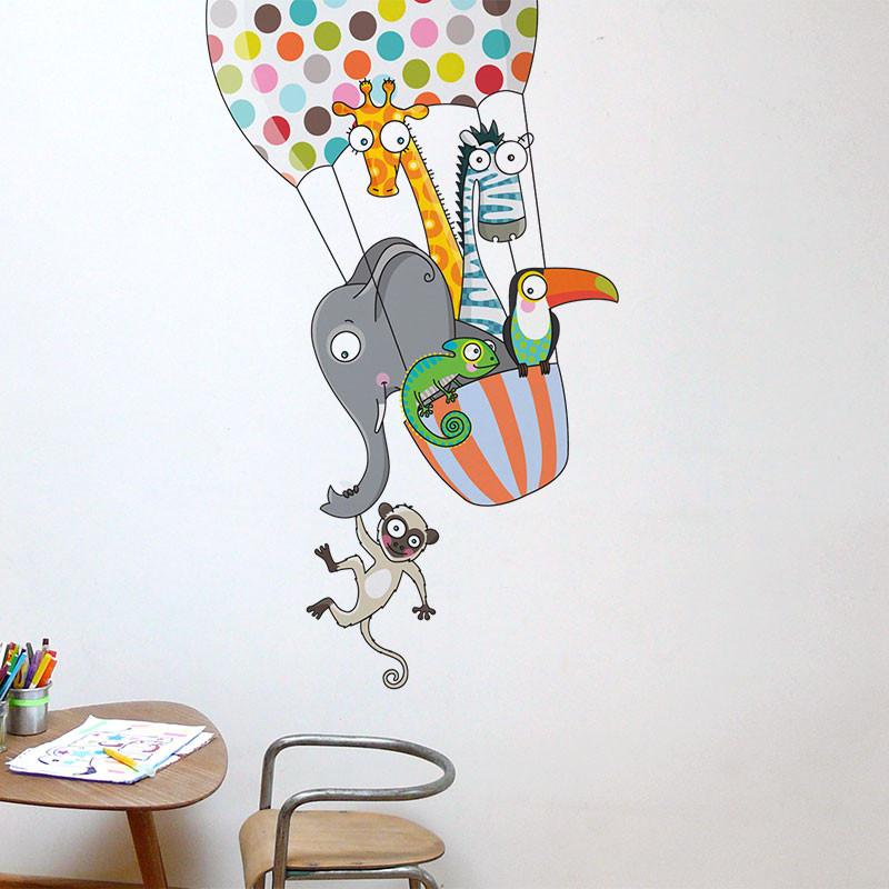 AD-Zif - Wall Decals - A Balloon Ride