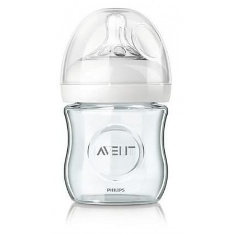 Avent - Natural - Glass Bottle 4oz