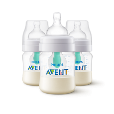 Avent - 3 Anti-colic Bottle With AirFree Vent - 4oz