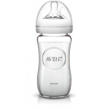 Avent - Natural - Glass Bottle 8oz