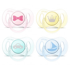 Avent - Mini Newborn Pacifiers 0-2M