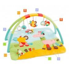 Baby Fehn - Tapis d'Activité 3D Safari