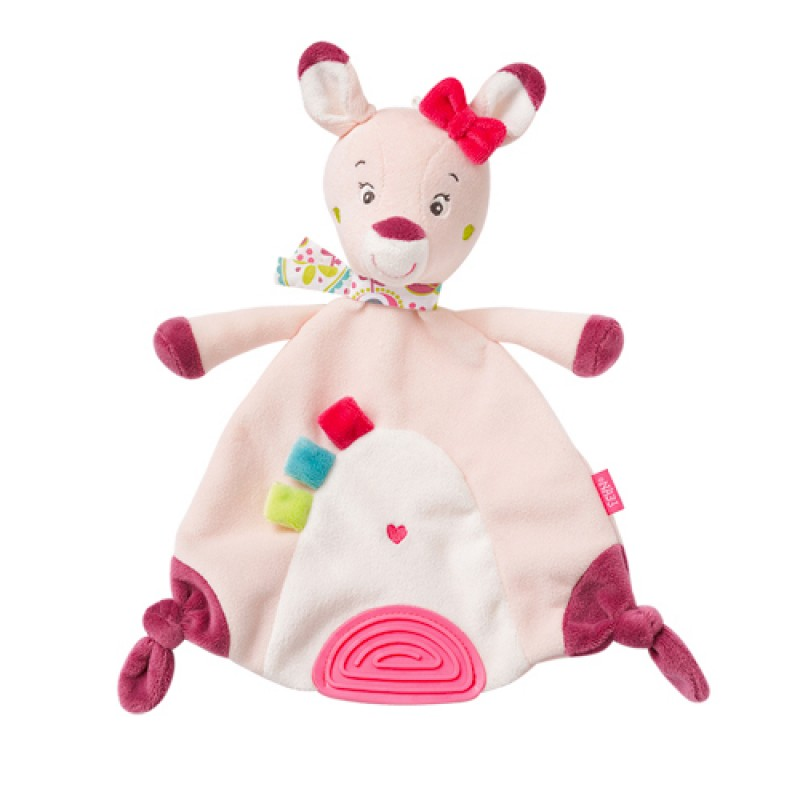 Baby Fehn - Baby Sleep Comforter Toy with a Soft Teether - Deer