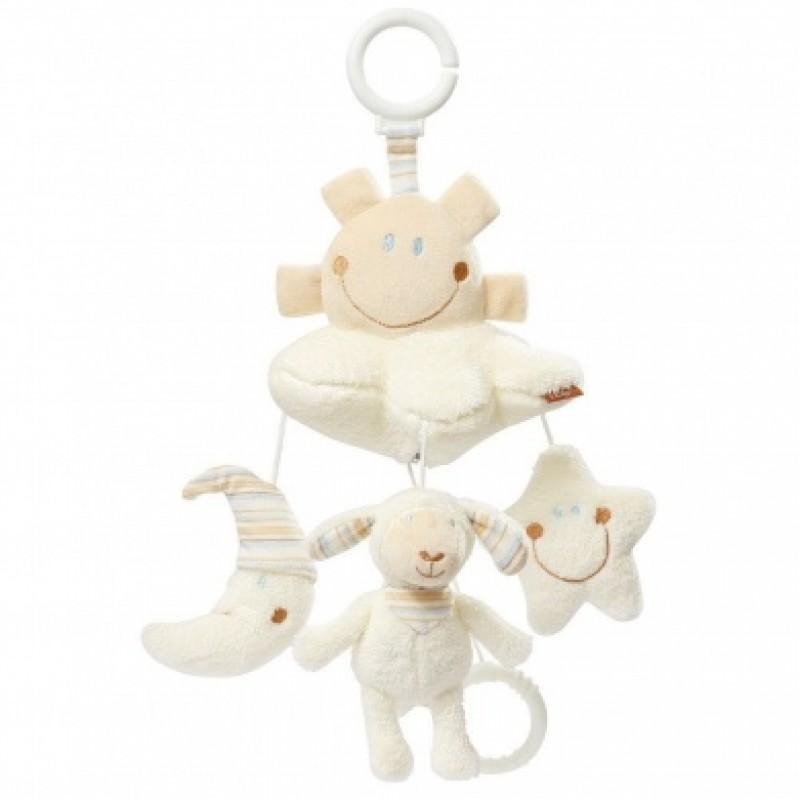 Baby Fehn - Mini Mobile Musical - Mouton