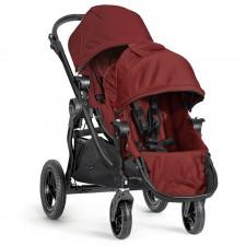 Baby Jogger - City Select Poussette + Deuxième Siège - Cadre Noir