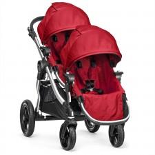 Baby Jogger - Poussette City Select + Deuxième Siège - Ruby