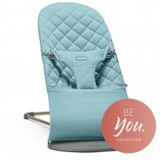 BabyBjorn - Bouncer Bliss - Coton turquoise vintage