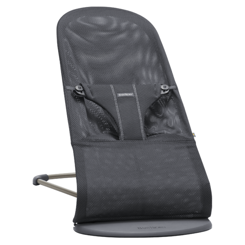BabyBjorn - Bouncer Bliss - Maille anthracite