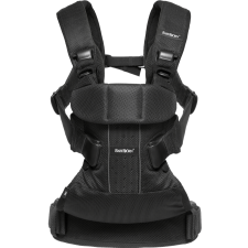 BabyBjorn - Baby Carrier One Air - Black Mesh
