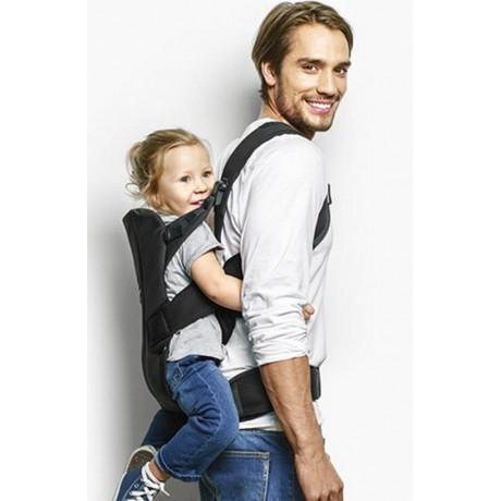 Babybjorn porte b b we black coton for Porte bebe babybjorn