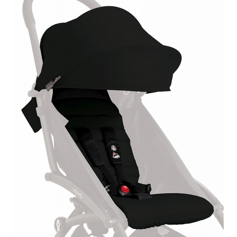 BabyZen - Pack couleur 6+ pour poussette YOYO+ - Noire