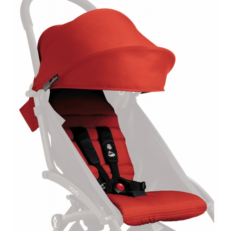 BabyZen - Pack couleur 6+ pour poussette YOYO+ - Rouge